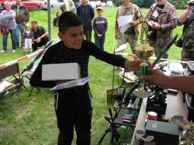 Vyhodnocení dětských závodů Vehlovice
